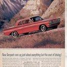 * 1962 PONTIAC TEMPEST COUPE PHOTO PRINT AD