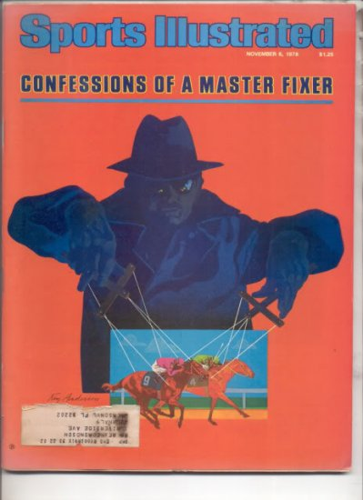 * 1978 SPORTS ILLUSTRATED CONFESSIONS OF A MASTER FIXER