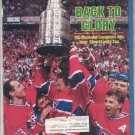 * 1986 SPORTS ILLUSTRATED MONTREAL WINS STANLEY CUP