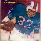 1974 SPORTS ILLUSTRATE​D OJ SIMPSON