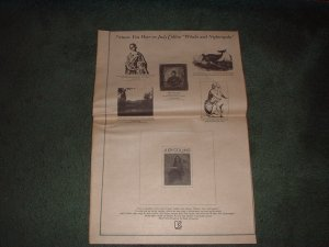 1970 JUDY COLLINS POSTER TYPE AD