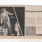 ROGER DALTRY THE WHO SHURE MIC PROMO AD 1977