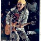 1995 SANTANA CARLOS SANTANA PRS GUITAR AD