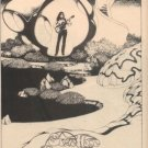 STEVE HOWE YES  BEGINNINGS PROMO AD 1976