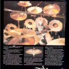 1979 PETER CRISS KISS ZILDJIAN DRUMS POSTER TYPE AD