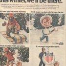 SAMMY DAVIS JR ALKA-SELTZER OLYMPICS PROMO AD 1980