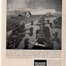 1963 BUICK WILDCAT CONVERTABLE CAR AD