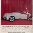 1958 JAGUAR XK150 XK 150 ROADSTER VINTAGE CAR AD