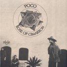 1976 POCO ROSE OF CIMARRON POSTER TYPE AD