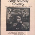 1974 ANNE MURRAY COUNTRY POSTER TYPE  AD
