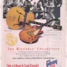 * 1993 GIBSON THE HISTORIC COLLECTION GUITAR AD LES