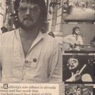 1978 GERRY RAFFERTY CITY TO CITY POSTER TYPE AD