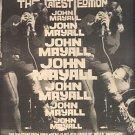 JOHN MAYALL POSTER TYPE PROMO AD 1974