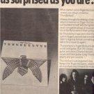 1977 THUNDERBYRD POSTER TYPE AD