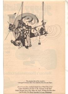 1975 CHICAGO GREATEST HITS POSTER TYPE AD