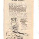 1977 GIBSON TRIPIK POSTER TYPE AD