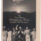 BOB SEGER STRANGER IN TOWN PROMO AD 1978