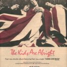 THE WHO THE KIDS ARE ALRIGHT PROMO AD 1979