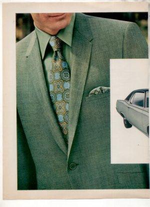 1969 1970 MERCURY MARQUIS STERLING & HUNT CAR AD 2-PG