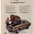 1970 BUICK OPEL KADETT VIMTAGE CAR AD