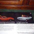 1970 BUICK SKYLARK GS 455 BUICK OPEL GT CAR AD