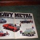 1979 DODGE STREET VAN POWER WAGON WARLOCK CAR TRUCK AD