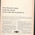 * 1964 1965 CHEVY IMPALA PHOTO PRINT AD 2-PAGE