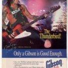 1994 NIKKI SIXX MOTLEY CRUE GIBSON GUITAR AD