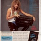 1991 REB BEACH WINGER CARVIN AD