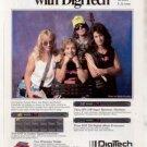 1991 DAMN YANKEES DIGITECH AD NUGENT SHAW