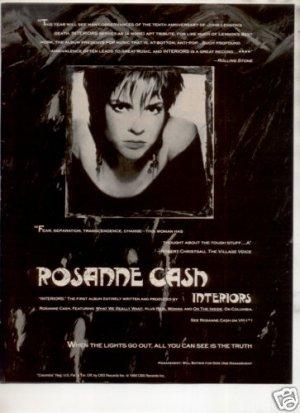 1991 ROSANNE CASH INTERIORS AD