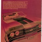 1969 MERCURY CYCLONE CJ VINTAGE CAR AD