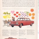* 1960 CHEVY CORVAIR VINTAGE CAR AD