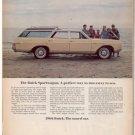 1966 BUIICK SPORTWAGON SPORT WAGON CAR AD