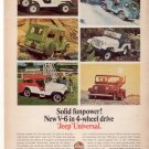 1966 1967 JEEP VINTAGE CAR AD