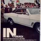 1967 BUICK GS400 GS-400 VINTAGE CAR AD 2-PAGE