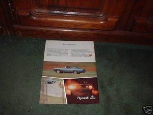 1967 PLYMOUTH BARRACUDA VINTAGE CAR AD