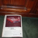 1967 1968 PONTIAC FIREBIRD 400 FIREBIRD HO CAR AD