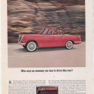 1962 1963 TRIUMPH 1200 VINTAGE CAR AD