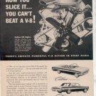 1962 1963 OLDSMOBILE CUTLASS VINTAGE CAR AD
