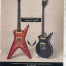 * 1993 DEAN ELITE ML GUITAR AD