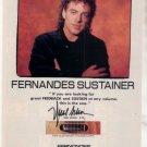 * 1993 NEAL SCHON FERNANDES GUITAR AD
