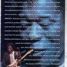 * 1993 BUDDY GUY SHURE WIRELESS LS114 GUITAR AD