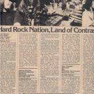 1975 LYNYRD SKYNYRD PERFORMANCE ARTICLE ADVERT AD