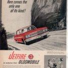 1963 OLDSMOBILE JETFIRE VINTAGE CAR AD