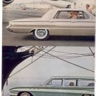 * 1961 BUICK SPECIAL STATION WAGON PRINT AD 3-PAGE