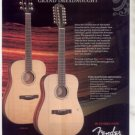 * FENDER GRAND DREADNOUGHT GD-47S GUITAR AD
