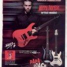 * PAPA ROACH JERRY HORTON SCHECTER GUITAR AD