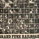 GRAND FUNK RAILROAD CAUGHT IN THE ACT PROMO AD 1975