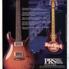 PRS PAUL REED SMITH GUITAR AD THE McCARTY MODEL 1998